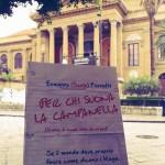 """Il Teatro Massimo di Palermo fotografato da @__MartaF__. Dove c'è cultura c'è """"Per chi suona la campanella""""!"""