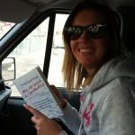 @aleapple in viaggio da Pordenone a Genova (leggendo il libro in auto causerà sicuramente un incidente, ma ne sarà valsa la pena)