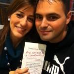 @amolteni e la sua incolpevole fidanzata Giulia a Roma