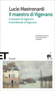 """Copertina de """"Il maestro di Vigevano"""" di Lucio Mastronardi"""
