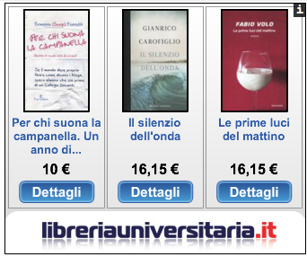 Campanella vs Volo - Le prime grafiche delle librerie online sui libri più attesi del mese