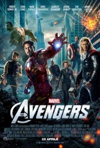"""La locandina di """"The Avengers"""""""