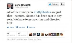 Non è detto che per il film servano uno sceneggiatore e un regista... in fondo per il libro non è servita una scrittrice