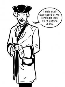 Kant pronto per la passeggiata