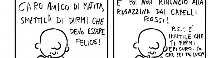 Epicuro e Charlie Brown