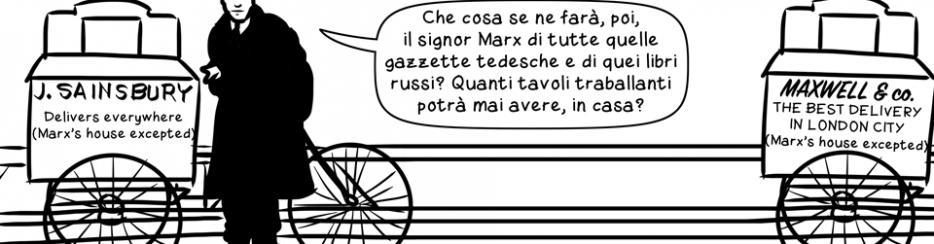 Il ragazzo delle consegne di Marx