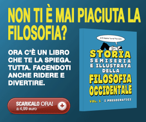 Ad per Storia semiseria e illustrata della filosofia occidentale