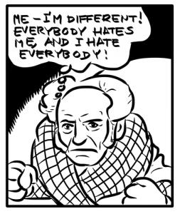 Schopenhauer nelle vesti di Zio Paperone