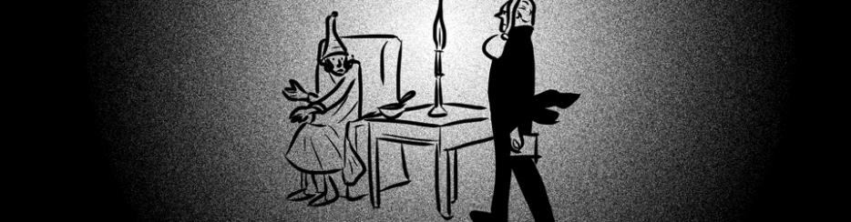 Schopenhauer riceve la visita del fantasma di Kant