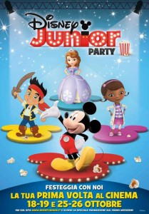 La locandina di Disney Junior Party