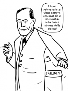 Freud mostra perché non si separa mai dal suo cappotto
