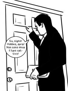 Il vicino bussa a casa Hobbes