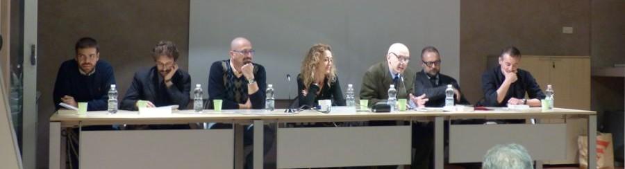 Il palco dell'evento a Modena