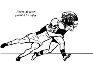 Anche gli alieni giocano a rugby