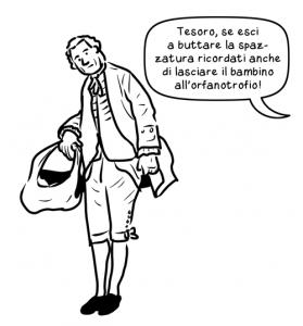 Rousseau col figlioletto