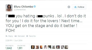 La cantante Jhené Aiko se la prende coi critici