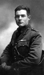Ernest Hemingway durante la Prima guerra mondiale