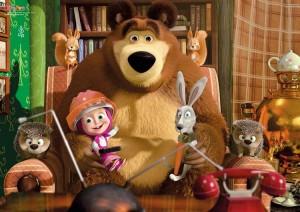 Masha, Orso e altri amici del bosco