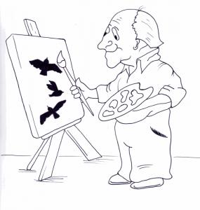 """Uno dei disegni realizzati dagli alunni del Liceo Artistico """"Bruno Munari"""" di Castelmassa (RO)"""