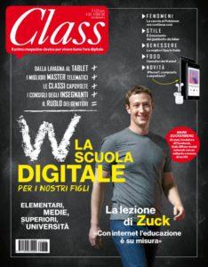 La copertina di ottobre 2016 di Class